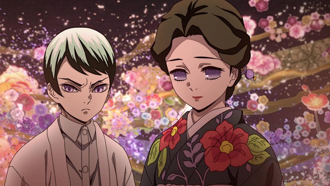 Tamayo & Yushiro - Kimetsu no Yaiba Episode 8