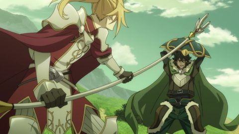 The Spear Hero Battles the Shield Hero - The Rising of the Shield Hero Episode 18