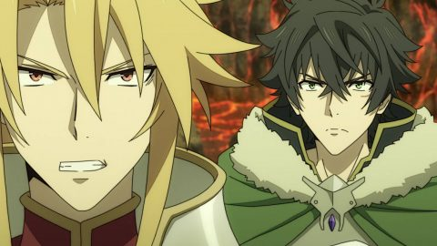 Motoyasu the Spear Hero and Naofumi the Shield Hero - The Rising of the Shield Hero Episode 19