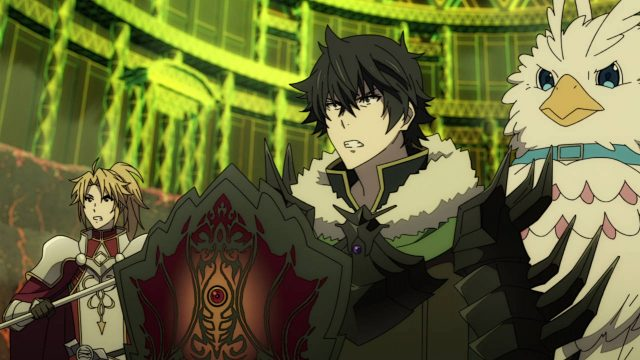 Naofumi, Filo, and Motoyasu - The Rising of the Shield Hero