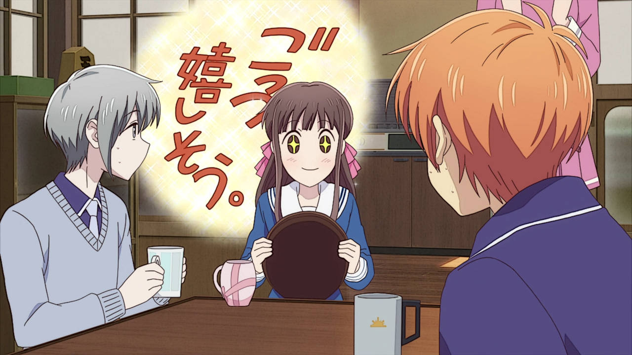 Excited Tohru - Fruits Basket Episode 10