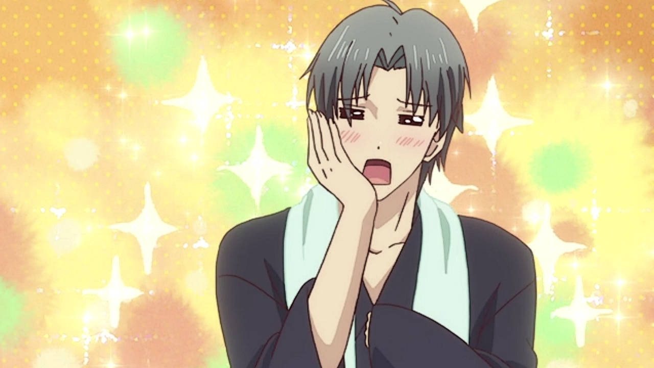 Shigure Fawns Over Tohru - Fruits Basket Episode 9