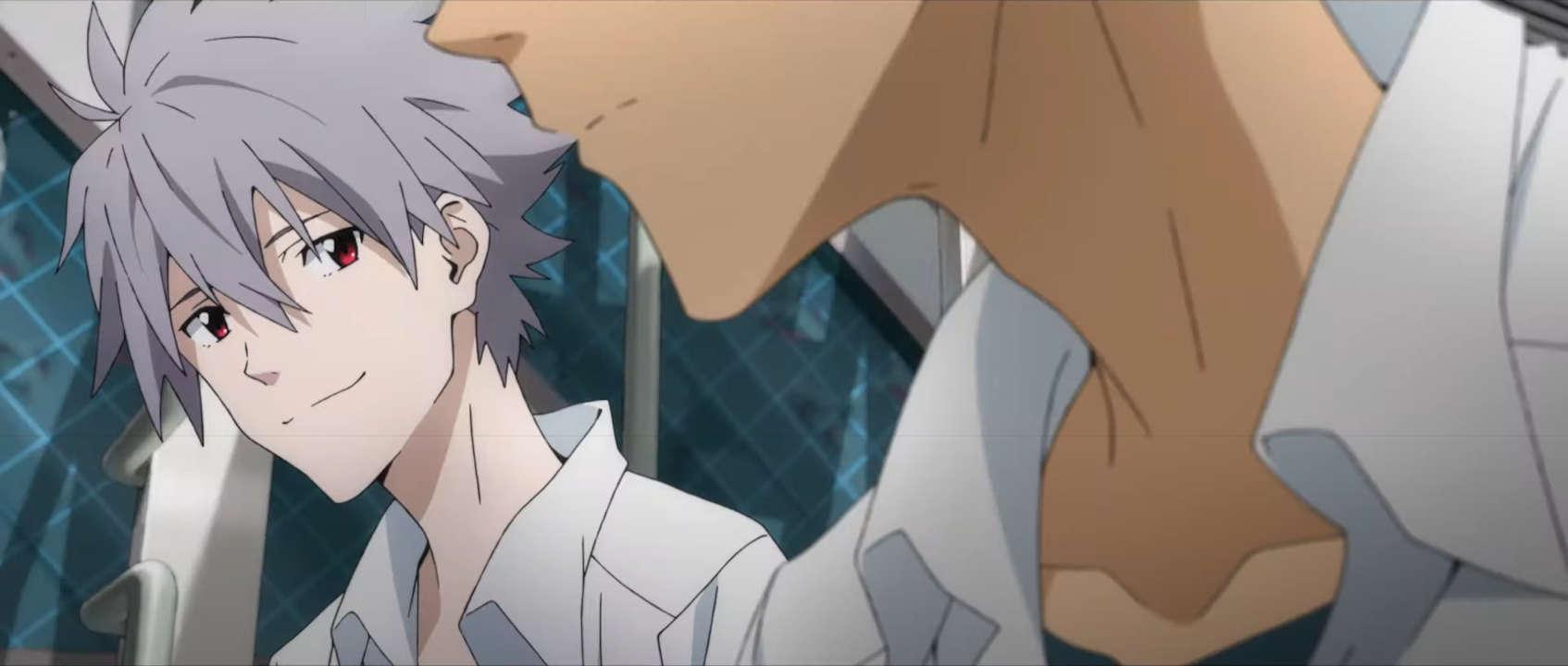 Kaworu & Shinji - Evangelion 3.0+1.0