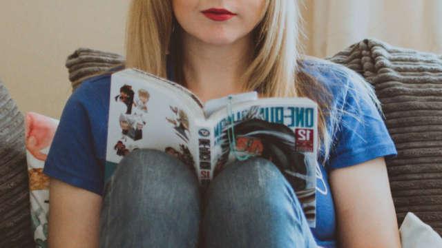 Reading Manga @ Home