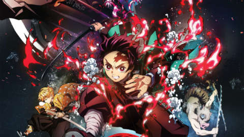 Kimetsu no Yaiba: Demon Slayer - The Mugen Train Poster